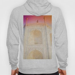 Morning Light at Taj Mahal Hoody