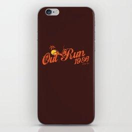Out Run 86 iPhone Skin