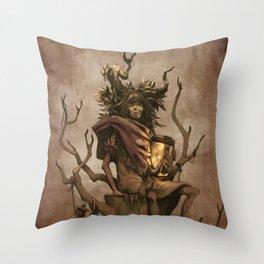 Shaman #1: Firefly Throw Pillow