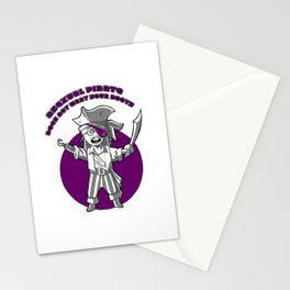 Ace pirate Stationery Cards