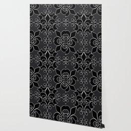 Fleur de lis pattern Wallpaper