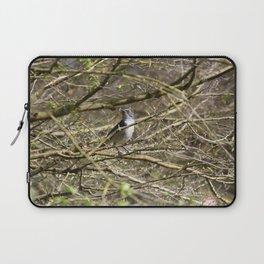 Little Bird Blue Laptop Sleeve