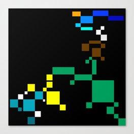 PixelLandScape Canvas Print