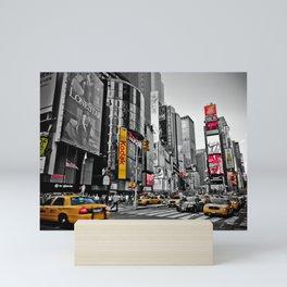 Times Square - Hyper Drop Mini Art Print