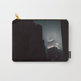 Night Lights Empire State Fog and Snow Carry-All Pouch