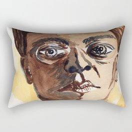 Man with glasses Rectangular Pillow