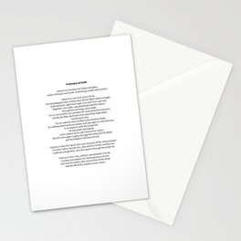 Profession of Faith Stationery Cards