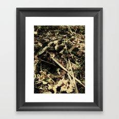 bone breaker Framed Art Print