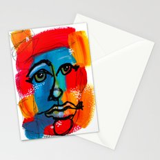 You Have to FaceYourself First Stationery Cards