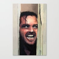 fear Canvas Prints featuring Fear. by Emiliano Morciano (Ateyo)