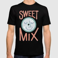 Sweet Mix Black MEDIUM Mens Fitted Tee
