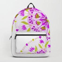 Floral Grove Mandala Backpack