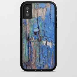 Blue Nail iPhone Case
