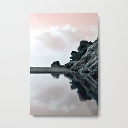 Reflections Of A Floating Coast Metal Print