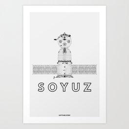 SOYUZ Art Print