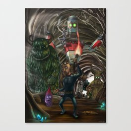 The quest... Canvas Print