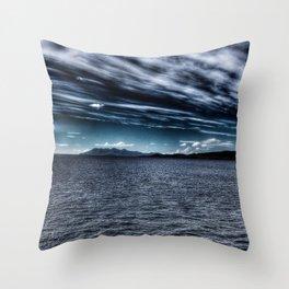 Speed Bonnie Boat Throw Pillow