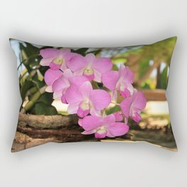 Pink Orchid Rectangular Pillow