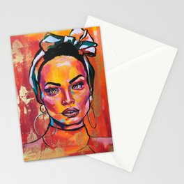 Latin queen Stationery Cards