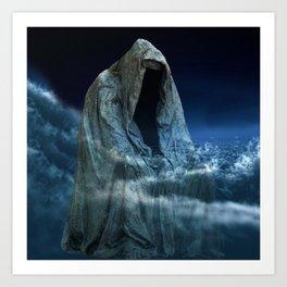 Cloak of Conscience Art Print
