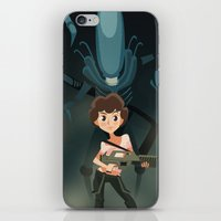 ripley iPhone & iPod Skins featuring Ripley by Alex Santaló