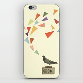 Pigeon Radio iPhone Skin