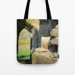 Tower Ruins Tote Bag
