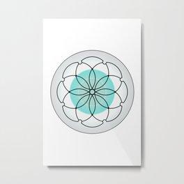 Sacred Geometry 2 Metal Print