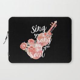 This Savage Song Laptop Sleeve