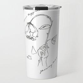 Growing Rose Travel Mug