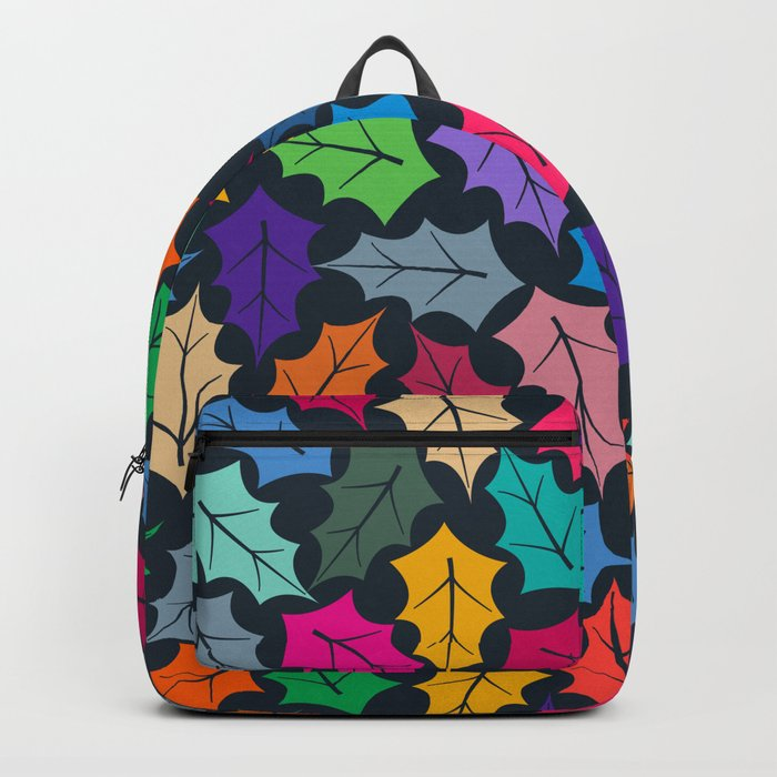 Colorful leaves III Backpack