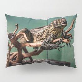 Languid Lizard Pillow Sham