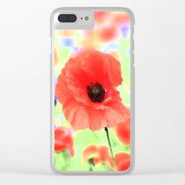 mohn Clear iPhone Case