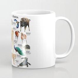 Wildlife of India Coffee Mug