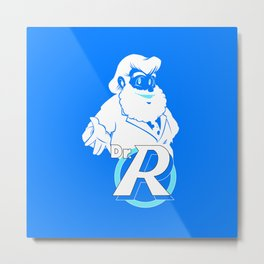 Dr.Right Metal Print
