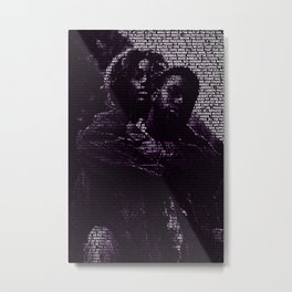 Black Love Metal Print