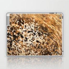 Rustic Country Western Texas Longhorn Cowhide Rodeo Animal Print Laptop & iPad Skin