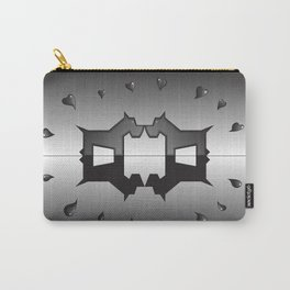 puppy love ink blot (Rorschach) Carry-All Pouch
