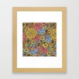 Flowers Flowers Flowers Framed Art Print