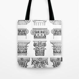 order of columns Tote Bag