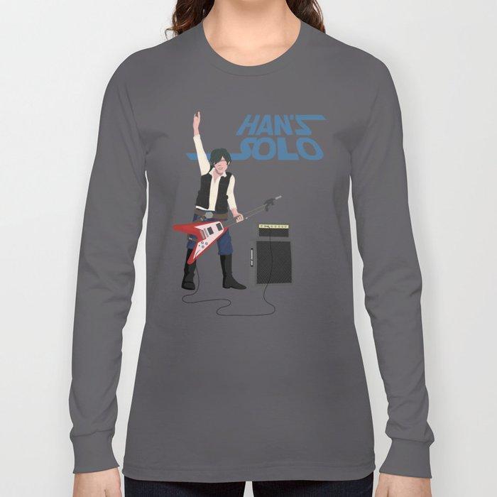 Han's Solo Long Sleeve T-shirt