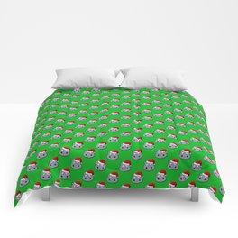 Santa Hippo Comforters