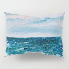 Cabo Beach Mexico Watercolor #1 Pillow Sham