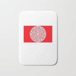 Ancient Arabian Symbol Bath Mat