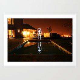Reflections. Art Print
