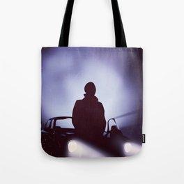 Vintage 80s car poster - the equalizer. Tote Bag
