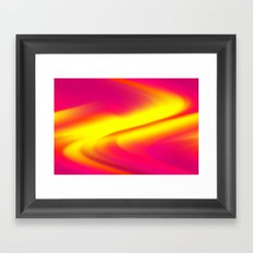 DREAM PATH (Reds, Oranges, Fuchsias, Purples & Yellows) Framed Art Print