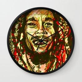 Nesta Marley Wall Clock