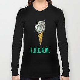 Ice C.R.E.A.M. Long Sleeve T-shirt
