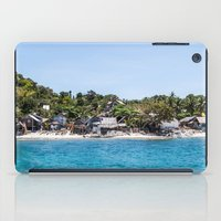 philippines iPad Cases featuring Chapel Reef at Apo Island Philippines by Jennifer Stinson